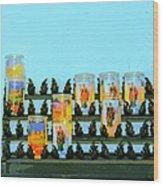 Votives Santa Barbara Wood Print