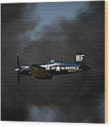 Vought F4u Corsair Wood Print