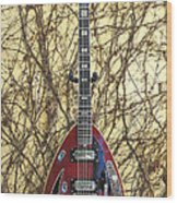 Vox Starstream Vi Guitar 1967 Wood Print