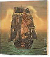 The Voyage Of The Dawn Treader Wood Print