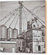 Voyces Mill Wood Print