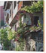 V. Turnovo Old City Street View - Bulgaria Wood Print