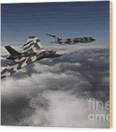 Vulcan And Victor  Wood Print