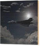 Vulcan Moon  Wood Print