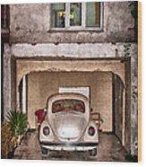 Vw Beetle Painting Wood Print