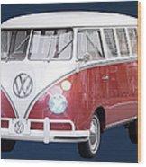 Vw Bus Wood Print