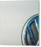 Vw Logo Wood Print