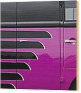 Vw Panel Van Colour  Wood Print