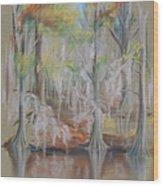 Waccamaw River Impressions Wood Print
