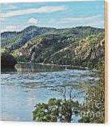 Wachau Valley Wood Print