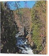 Wachusett Reservoir Spillway 2 Wood Print