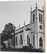 Waddell Memorial Church Founded 1874 Wood Print