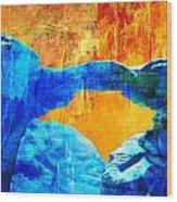 Wadi Rum Natural Arch 2 Wood Print