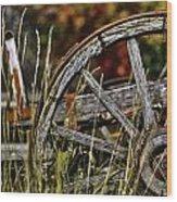 Wagon Down Wood Print