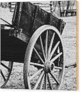 Wagon Wheel Wood Print