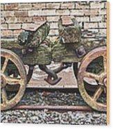 Wagon's Roll Wood Print
