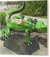 Waikiki Gecko Wood Print