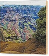 Waimea Canyon - Kauai Wood Print