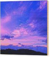 Wailua Sunset Wood Print
