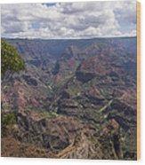Waimea Canyon 5 - Kauai Hawaii Wood Print