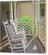 Waimea Porch Wood Print