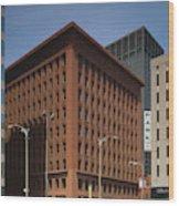 Wainwright Building Wood Print