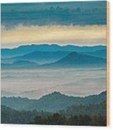 Waiting For The Sun Wood Print by Joye Ardyn Durham