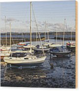 Waiting For The Tide To Turn Wood Print