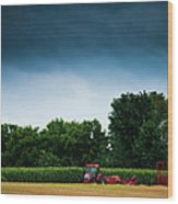 Waiting Out The Storms Wood Print by Christi Kraft