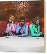 Waiting To Exhale Wood Print
