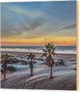 Wake Up For Sunrise In California Wood Print