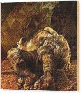 Waking Lazarus Wood Print