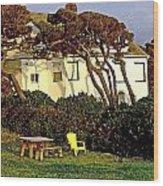 Waldport Beach House Wood Print