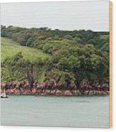 Wales Coastline Panorama Wood Print