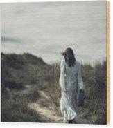 Walk In The Wind Wood Print