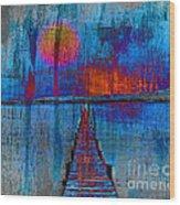 Walk On Water 03 Wood Print