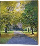 Walk The Way Wood Print