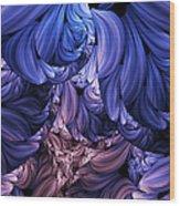 Walk Through The Petals Abstract Wood Print