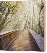 Walk With Me Wood Print