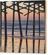 Walking Sticks Wood Print