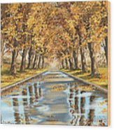 Walking Wood Print
