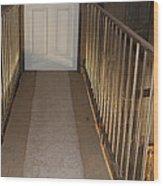 Walkway Upstairs Wood Print