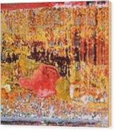Wall Abstract 1 Wood Print