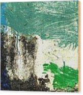 Wall Abstract 166 Wood Print