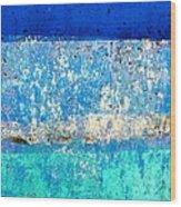 Wall Abstract 23 Wood Print