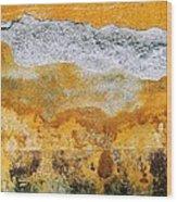 Wall Abstract 36 Wood Print
