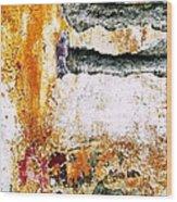 Wall Abstract 62 Wood Print