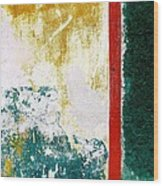 Wall Abstract 71 Wood Print