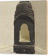 Wall Niche Shelf Udaipur City Palace India Wood Print