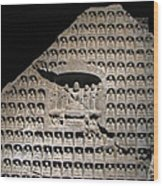 Wall Of Buddha Wood Print